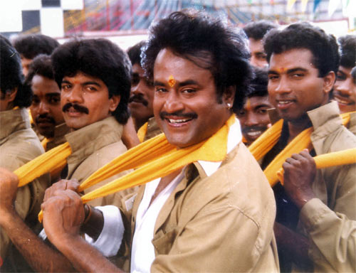 A scene from Baasha