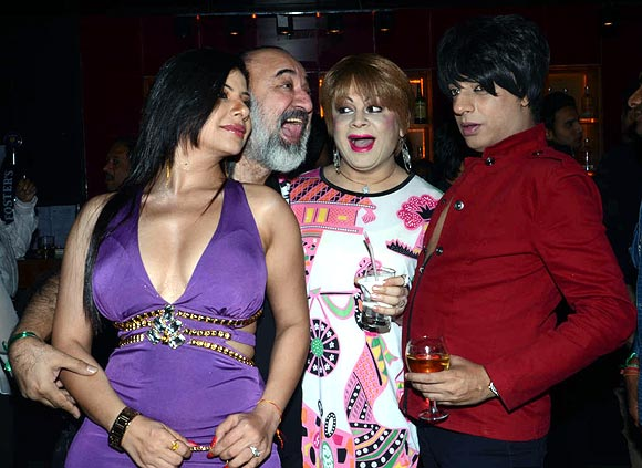Kanwaljeet, Bobby Darling and Rohit Verma