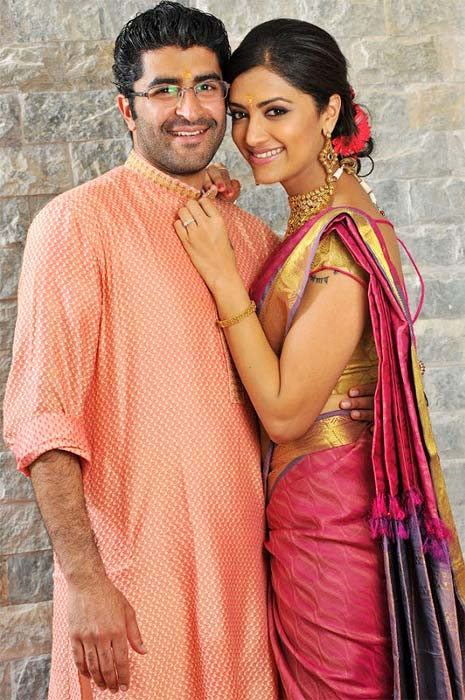 Mamta Mohandas with husband Prejith