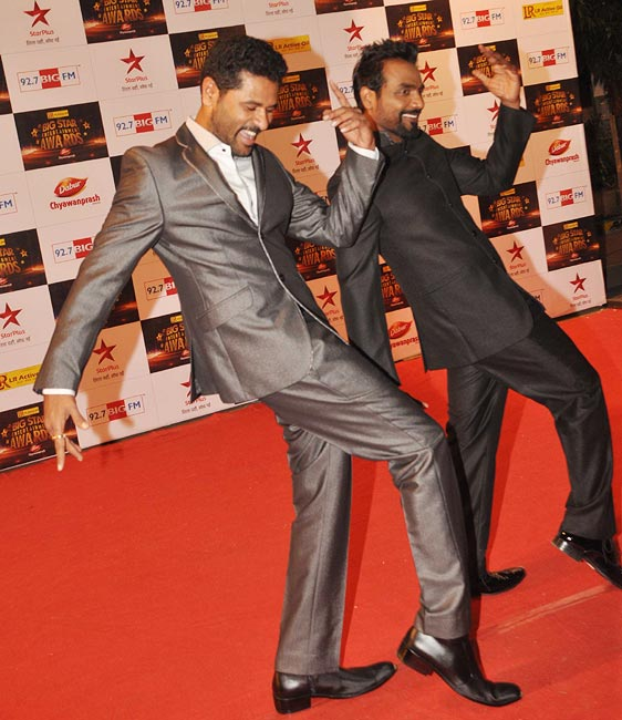 Prabhu Deva and Remo D'Souza