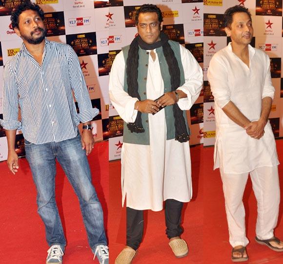 Shoojit Sircar, Anurag Basu and Sujoy Ghosh