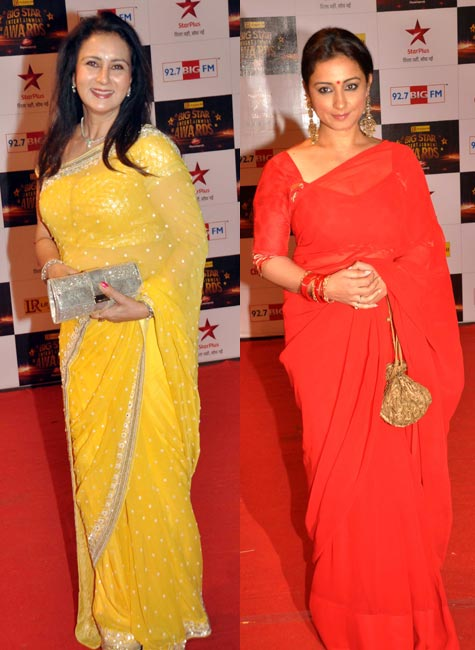 Poonam Dhillon and Divya Dutta
