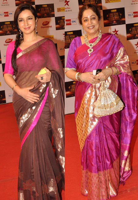 Tisca Chopra and Kirron Kher