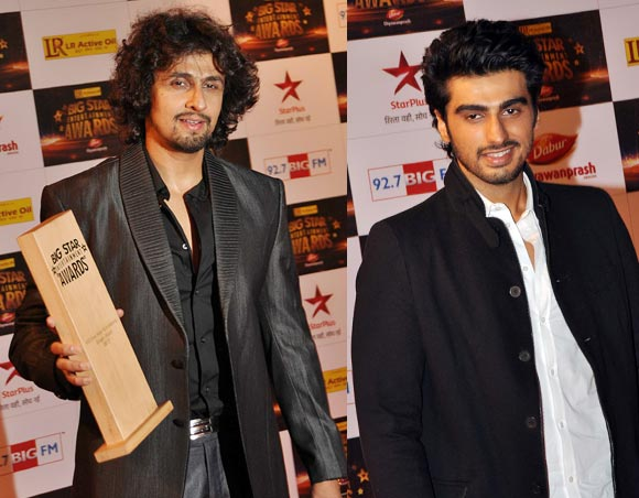 Sonu Nigam and Arjun Kapoor