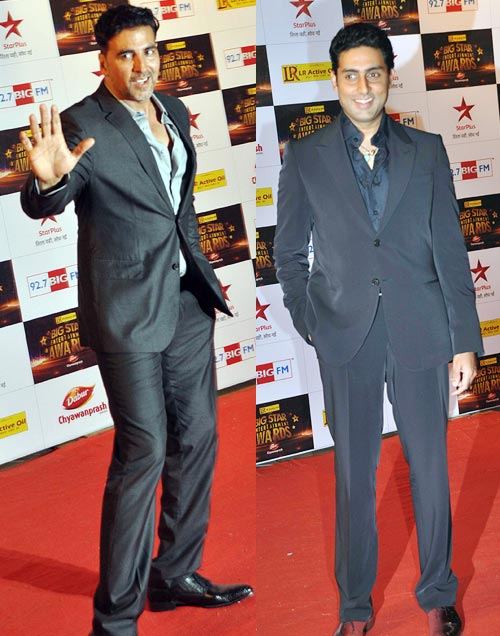 Akshay Kumar and Abhishek Bachchan