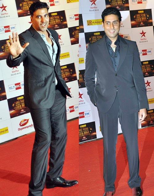 Akshay Kumar and Abhishek Bachchan