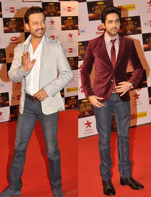 Irrfan Khan and Ayushmann Khurrana