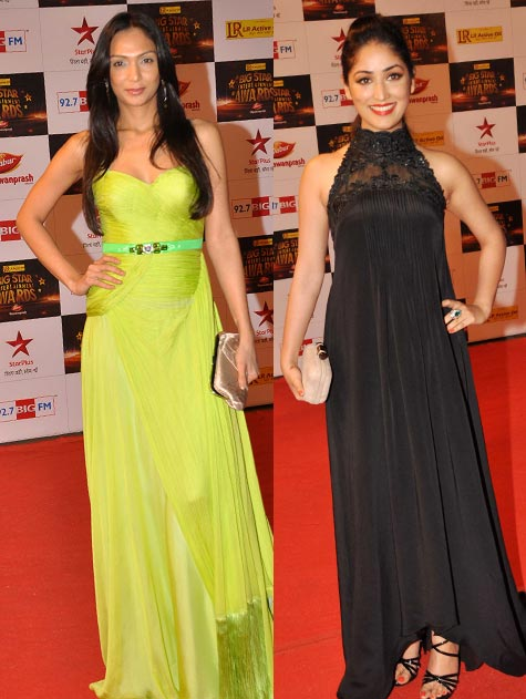 Shamita Singha and Yami Gautam