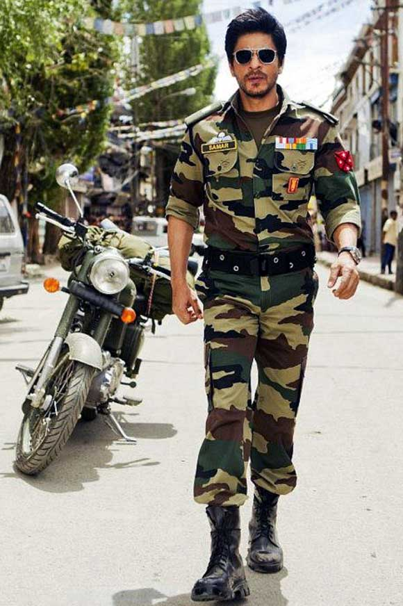 Shah Rukh Khan in Jab Tak Hai Jaan