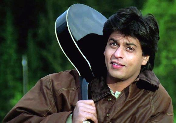 Shah Rukh Khan in Dilwale Dulhaniya Le Jayenge