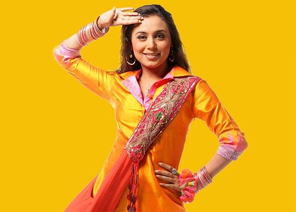 Rani Mukerji in Bunty Aur Babli