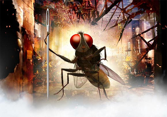 Movie still of Eega