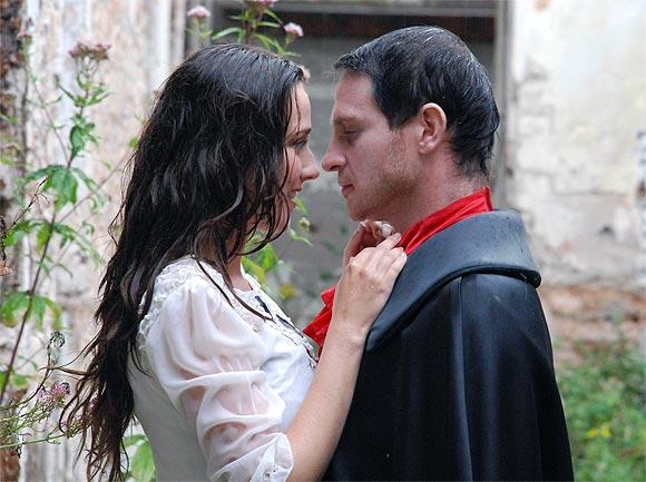 A scene from Saint Dracula 3D