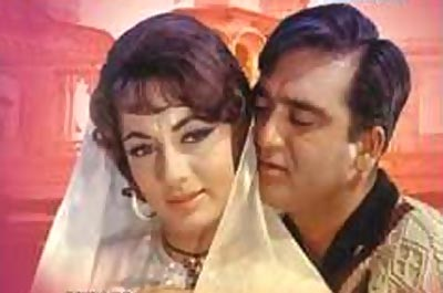Sadhana and Sunil Dutt in Mera Saaya