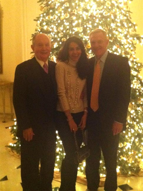 Mallika Sherawat with Bradford Freeman and Jerry Perenchio