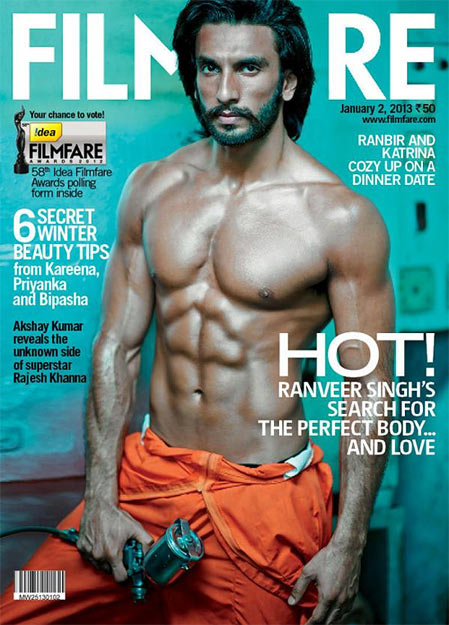 Ranveer Singh on Filmfare
