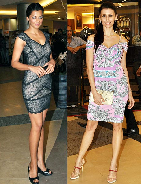 Mugdha Godse and Claudia Ciesla