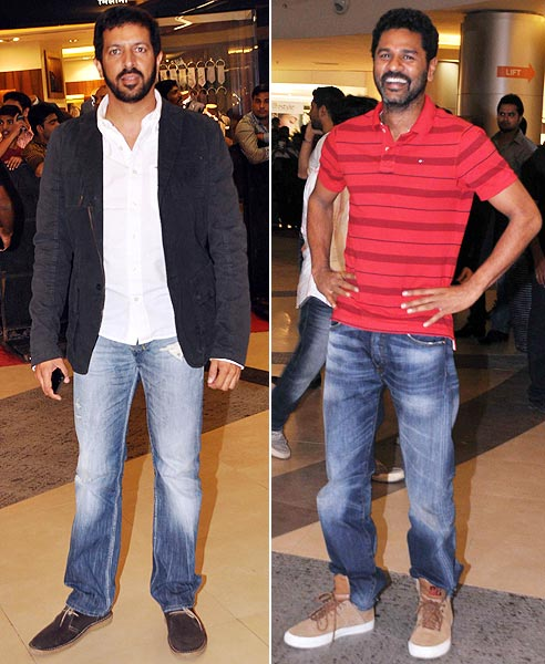 Kabir Khan and Prabhu Deva