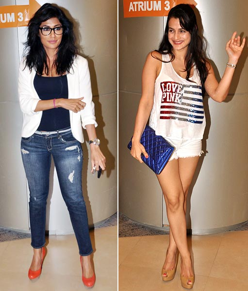 Chitrangada Singh and Ameesha Patel
