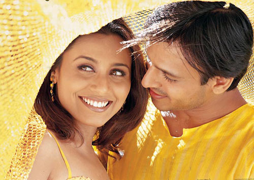 Rani Mukerji and Vivek Obeori in Saathiya
