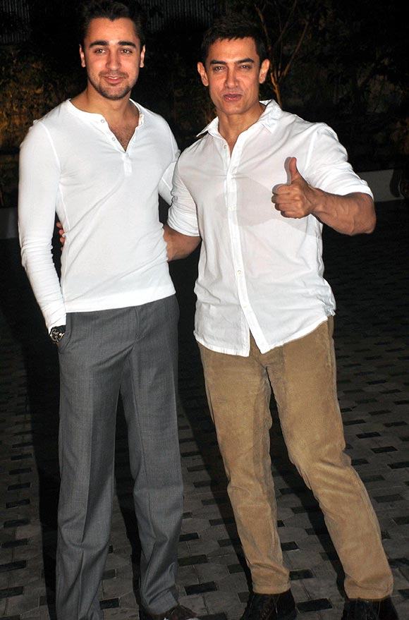 Imran and Aamir Khan