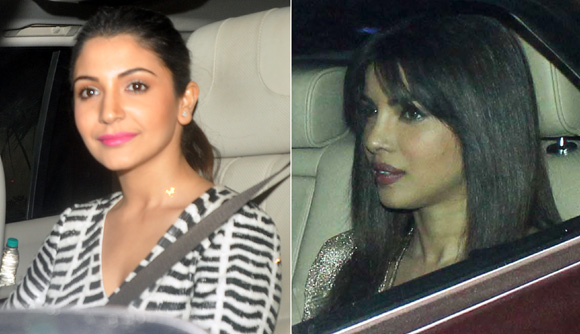 Anushka Sharma and Priyanka Chopra