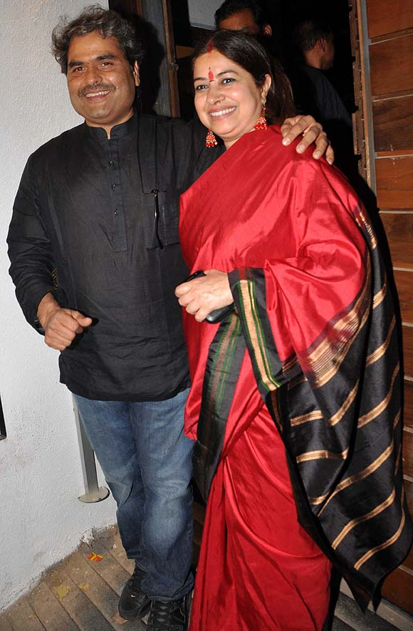 Vishal and Rekha Bhardwaj