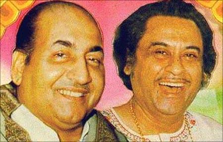 Mohammed Rafi and Kishore Kumar
