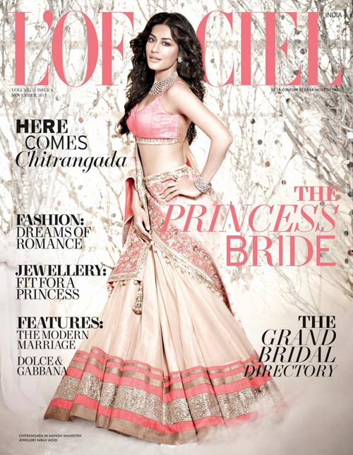 Chitrangada Singh on L'Officiel cover