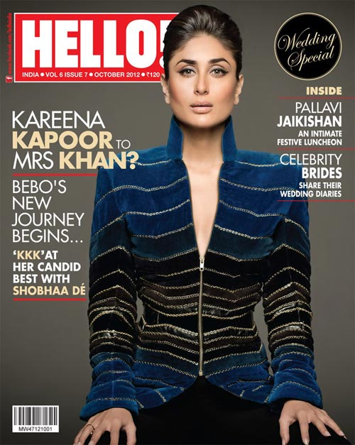 Kareena Kapoor on Hello! cover
