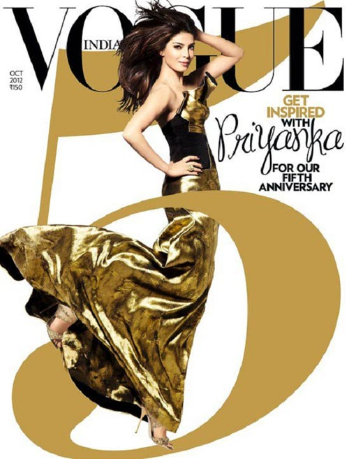 Priyanka Chopra on Vogue cover