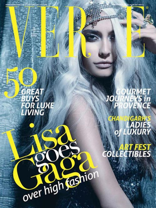 Lisa Haydon on Verve cover