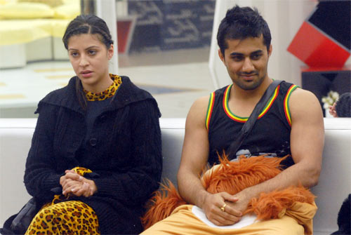 Vishal in Bigg Boss house
