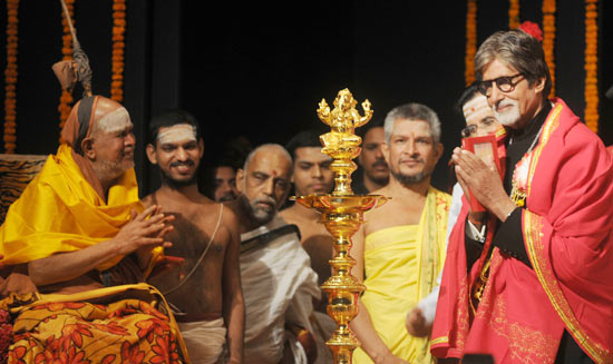 Shankaracharya of Kanchi and Amitabh Bachchan