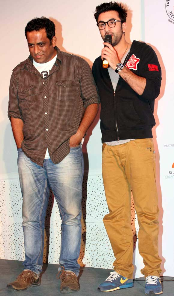 Anurag Basu and Ranbir Kapoor