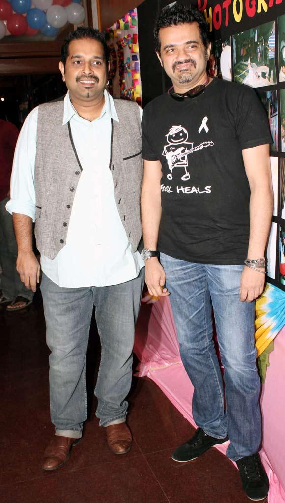 Shankar Mahadevan and Ehsaan Noorani
