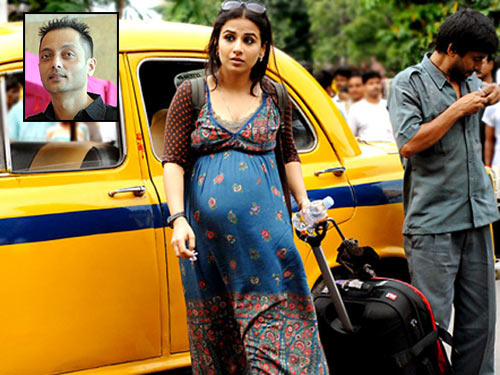 Vidya Balan in Kahaani. Inset: Sujoy Ghosh
