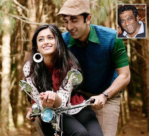 Ileana and Ranbir Kapoor in Barfi!. Inset: Anurag Basu