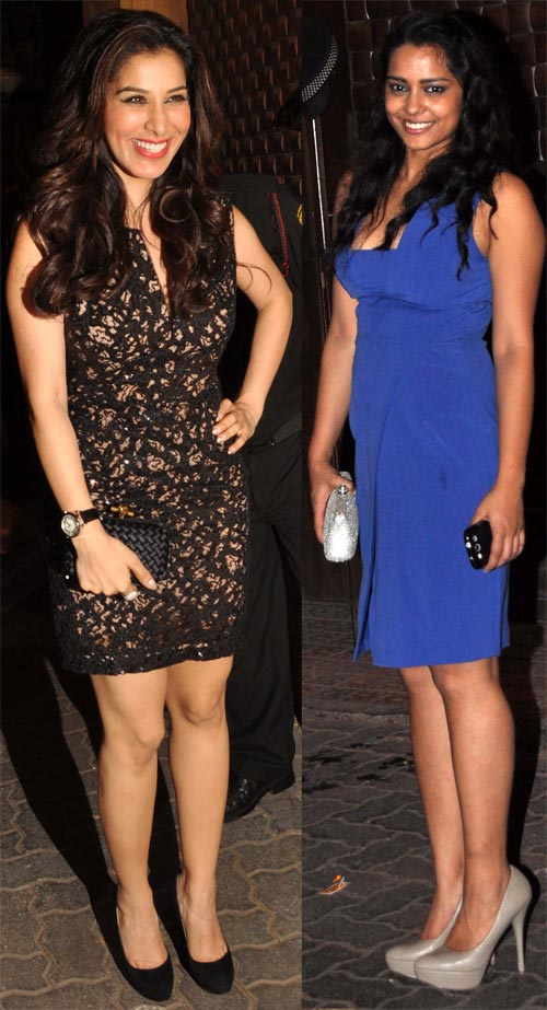 Sophie Choudry and Shahana Goswami