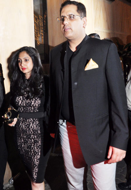 Rinke Khanna with husband Sameer Saran