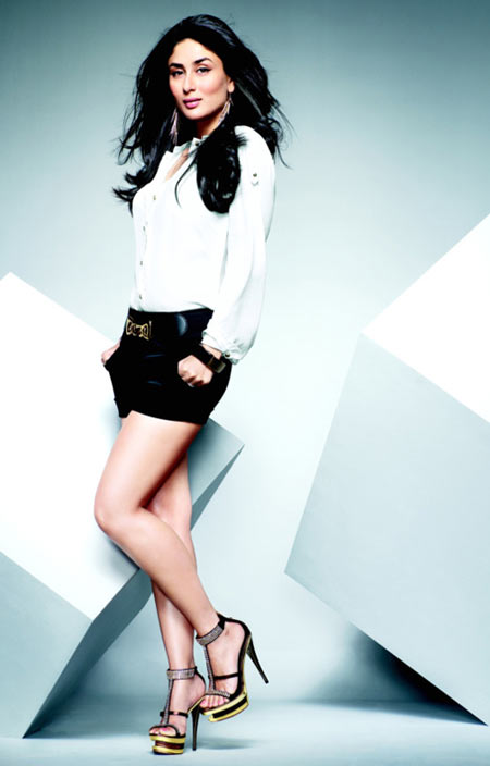 Kareena Kapoor in the Metro Shoes ad