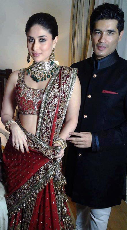 Manish Malhotra and Kareena Kapoor