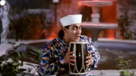 Salman Khan in Andaz Apna Apna