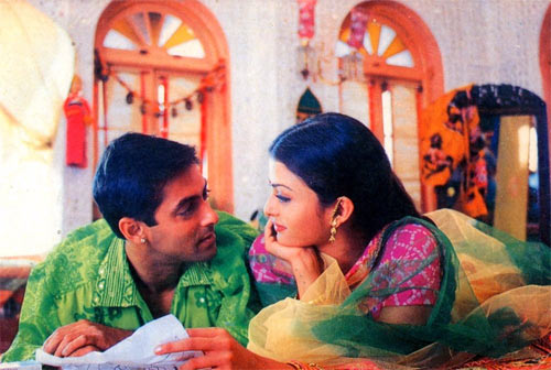 Salman Khan and Aishwarya Rai Bachchan in Hum Dil De Chuke Sanam