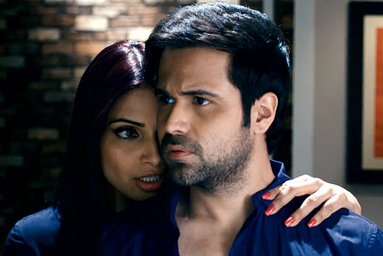 Bipasha Basu and Emraan Hashmi in Raaz 3