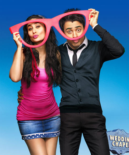 Kareena Kapoor and Imran Khan in Ek Main Aur Ek Tuu
