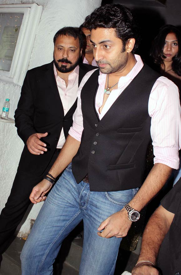 Bunty Walia and Abhishek Bachchan