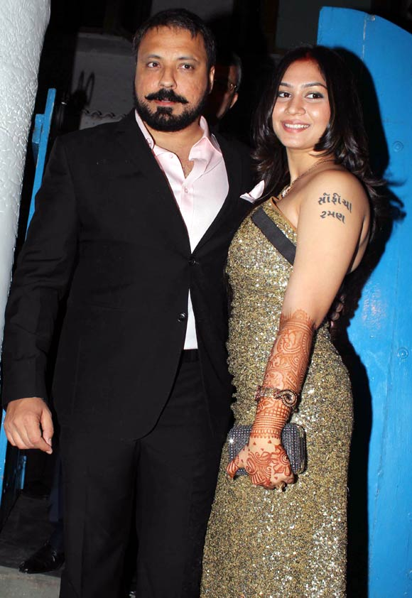 Bunty Walia and Vanessa Parmar