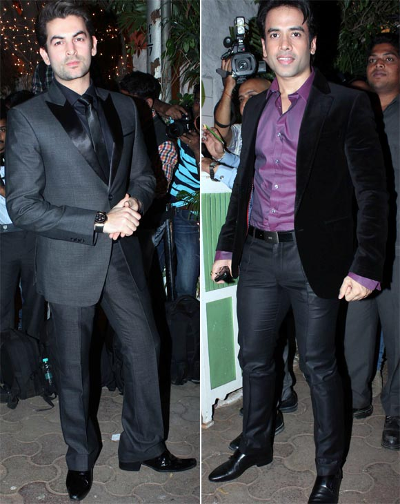 Neil Nitin Mukesh and Tusshar Kapoor