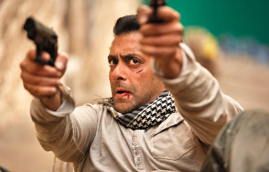 A scene from Ek Tha Tiger